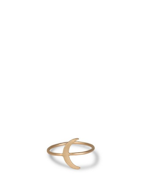 MINT By TIMI Moon ring Ringar Guld thumbnail