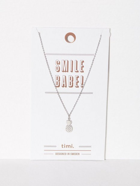 MINT By TIMI 2D Pineapple Necklace Smycken - MINT By TIMI