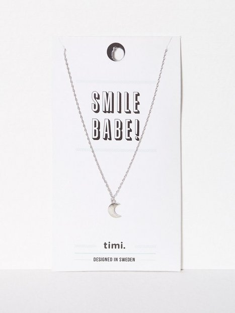 MINT By TIMI Small Moon Necklace Halsband - MINT By TIMI