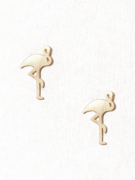 Billede af MINT By TIMI Flamingo Earrings Ørering Guld
