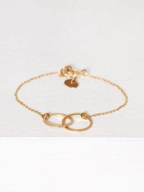 Billede af MINT By TIMI Double Circle Bracelet Armbånd Guld