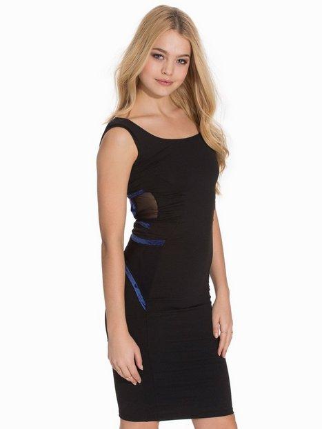 Billede af Quontum Wrap Strap Vest Dress Kropsnære kjoler Black