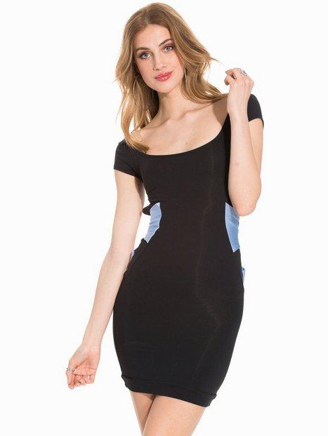 Billede af Quontum Wrap Back Strap Mini Dress Kropsnære kjoler Blue