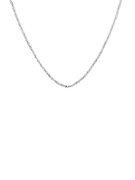 Billede af Blue Billie Criss Cross Chain 60cm Halskæde Sølv