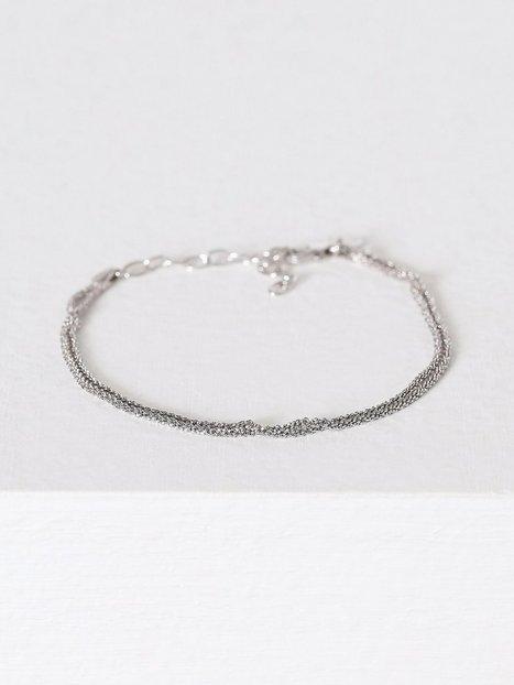 Billede af Blue Billie Criss Cross Bracelet Armbånd Sølv