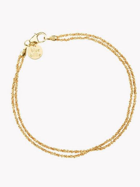 Billede af Blue Billie Criss Cross Bracelet Armbånd Guld
