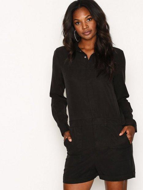 Billede af Dr Denim Mirelle Playsuit Playsuits Black