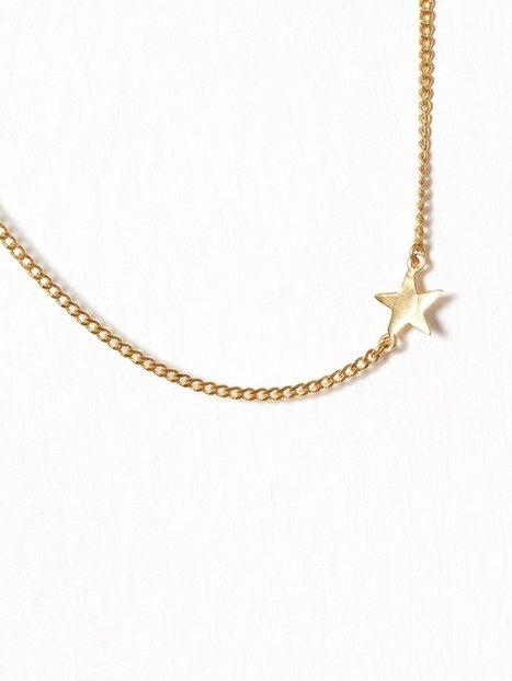 Billede af Blue Billie Star Curb Bracelet Armbånd Guld