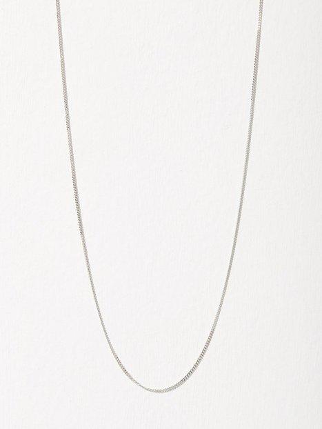 Billede af Blue Billie Curb Chain 45cm Halskæde Sølv