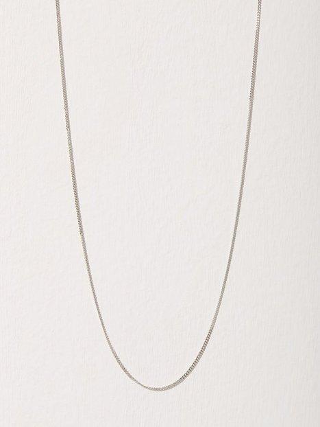 Billede af Blue Billie Curb Chain 60cm Halskæde Sølv
