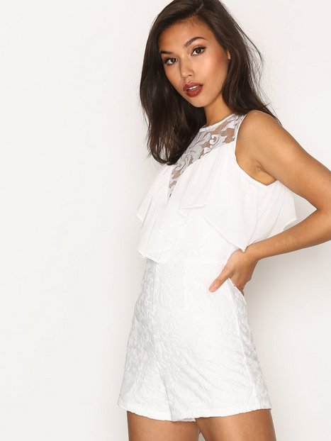Playsuit with Frill Detailing