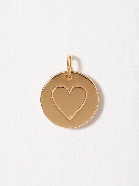 Billede af Blue Billie Heart Pendant Øvrigt smykke Guld
