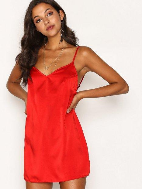 Billede af Motel Maltri Slip Dress Loose fit Red