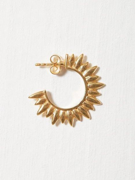 Billede af Blue Billie Sun Hoop Earring Ørering Guld