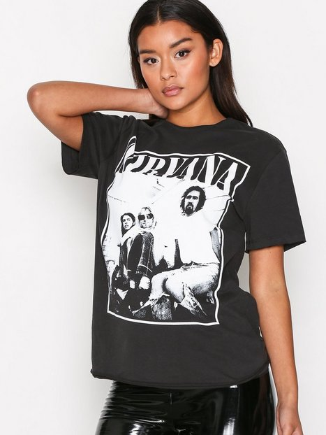 Amplified Nirvana Band Tee T-shirts Charcoal thumbnail
