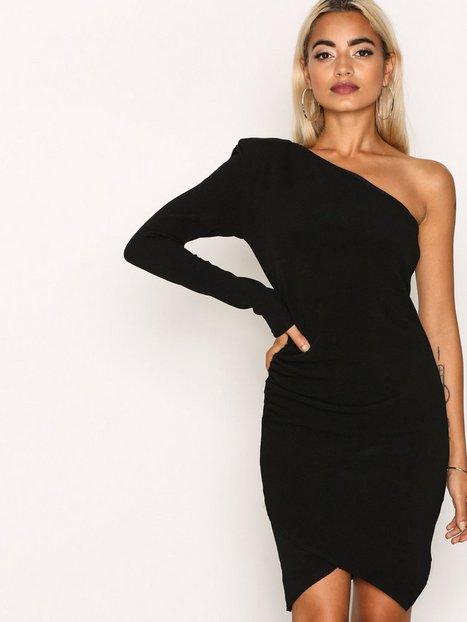 Billede af Missguided Bandage Detail Maxi Dress Kropsnære kjoler Black