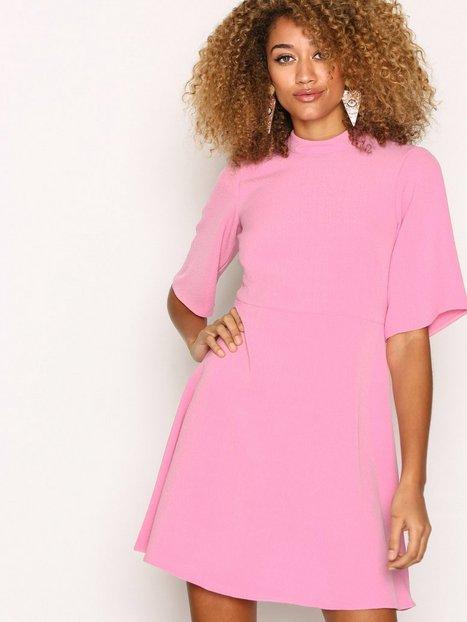 Billede af Closet Closet High Collar A-Line Skirt Dress Loose fit dresses Pink