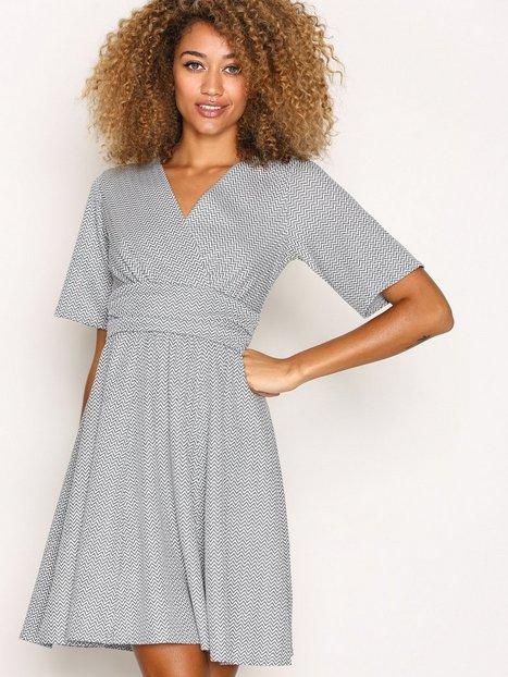 Billede af Closet Closet Jersey Skater Dress Loose fit Grey