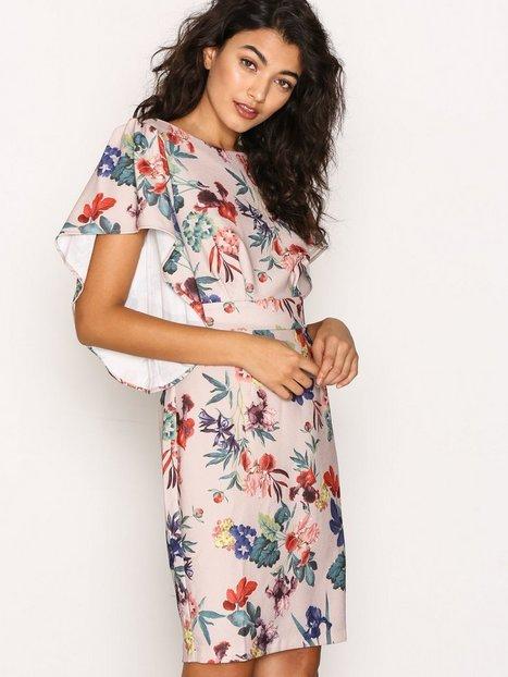 Billede af Closet Closet Trumpet Sleeve Tie-back Pencil Dress Loose fit dresses Multi