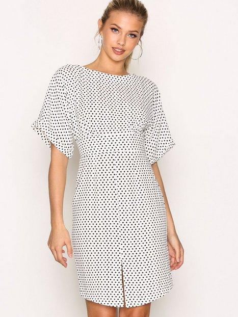 Billede af Closet Closet Kimono Wiggle Dress Loose fit Black/White