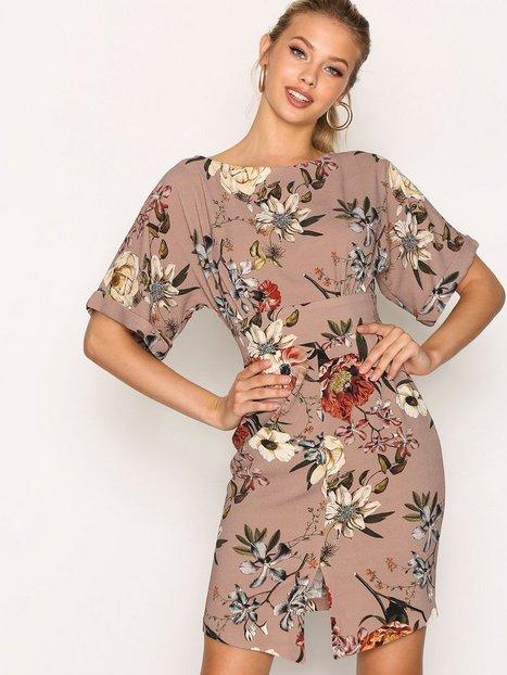 Billede af Closet Closet Kimono Wiggle Dress Loose fit Multi
