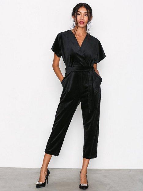 Billede af Closet Kimono Sleeve Jumpsuit Jumpsuits Black