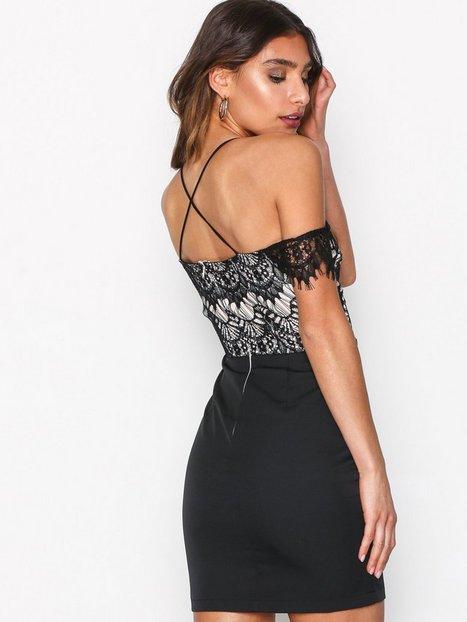 Eyelash Lace Strappy Dres