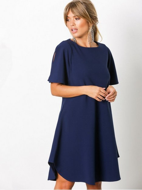 Billede af Closet Angel Sleeve Tunic Dress Loose fit dresses Marine