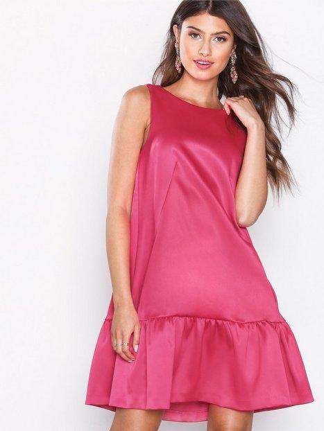 Billede af Closet A-Line Gathered Hem Dress Loose fit Pink
