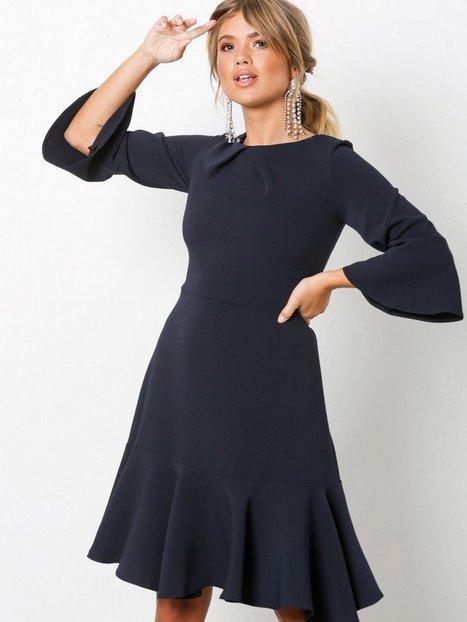 Billede af Closet Frill Sleeve A-Line Dress Loose fit Marine