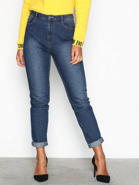 Billede af Missguided High Rise Mom Jeans Loose fit Blue
