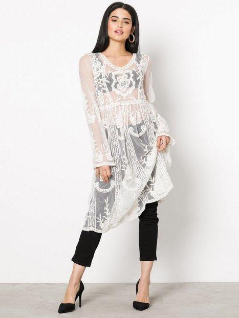 Billede af Missguided Lace and Crochet Dress Kjoler White