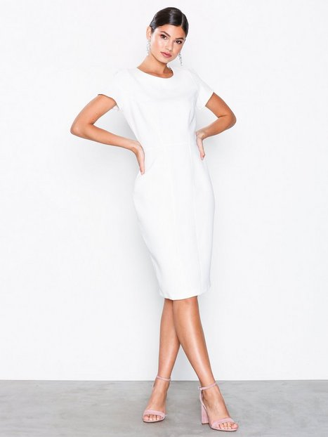 Billede af Closet Paneled Pencil Dress Loose fit White