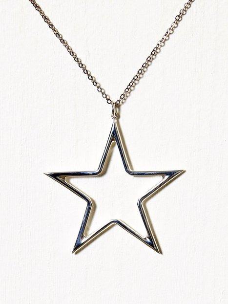 Billede af Blue Billie Big Star Charm Vedhæng Sølv