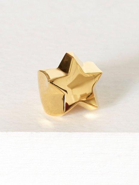 Billede af Blue Billie Star Ring Ring Guld