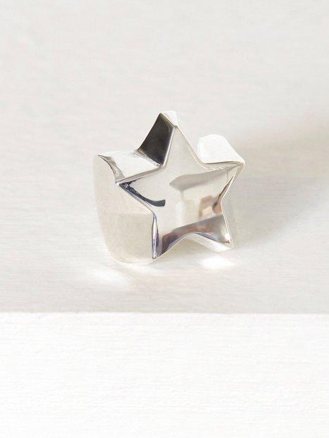 Billede af Blue Billie Star Ring Ring Sølv