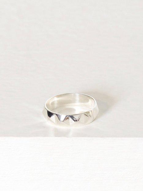 Billede af Blue Billie Stud Ring Ring Sølv