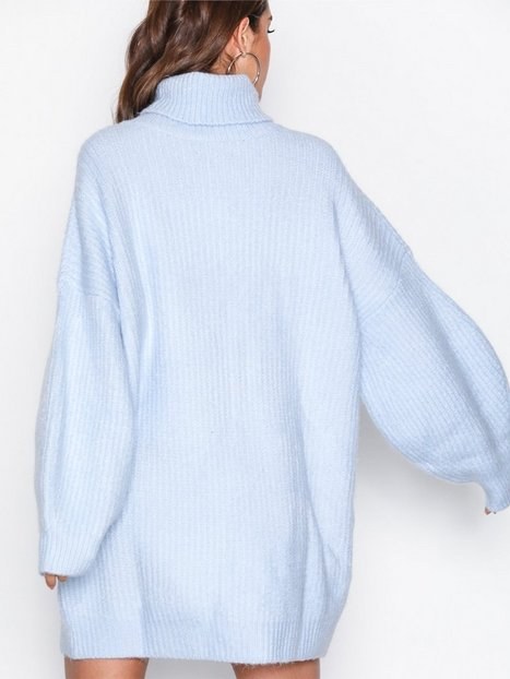 Roll Neck Oversized Dress