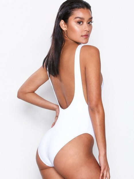 High Leg Drop Side Swimsuit