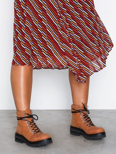 Billede af Gestuz Sando Boots Flat Caramel