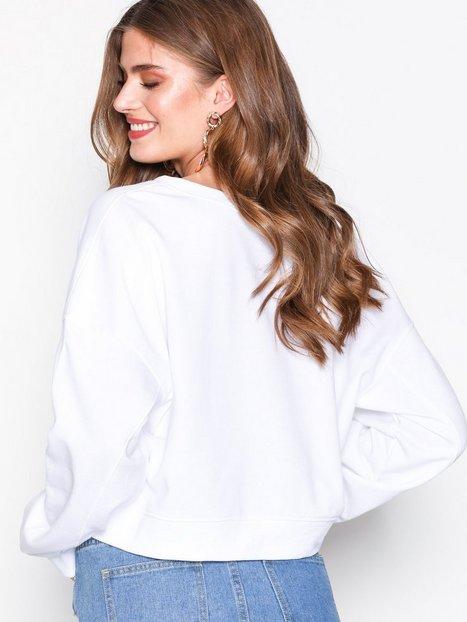 Oversized V Front Sweatshirt