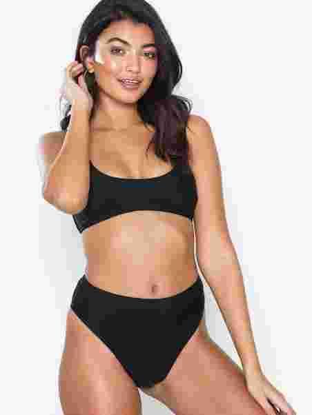 a8fe187267978 Mix And Match High Waist Bikini Bottoms - Missguided - Black ...