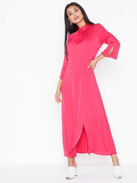 Billede af Closet High Neck Front Slit Dress Loose fit
