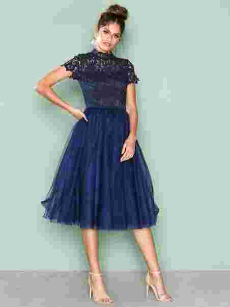 460325ac1104 Devon Dress - Chi Chi London - Navy - Party Dresses - Clothing ...