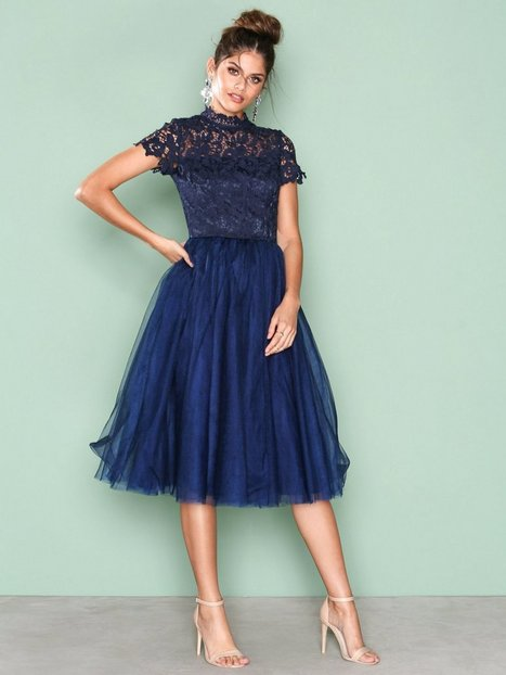 Billede af Chi Chi London Devon Dress Skater dresses Marine