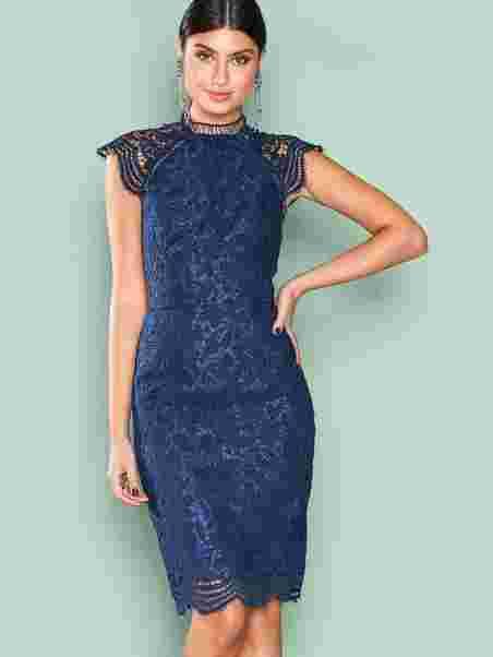 7dcd1300c1 Shannon Dress - Chi Chi London - Navy - Party Dresses - Clothing ...