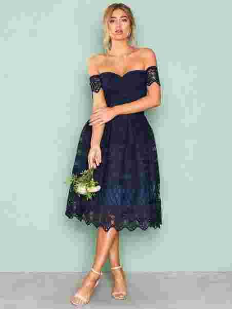 924df201a7a Estelle Dress - Chi Chi London - Navy - Party Dresses - Clothing ...