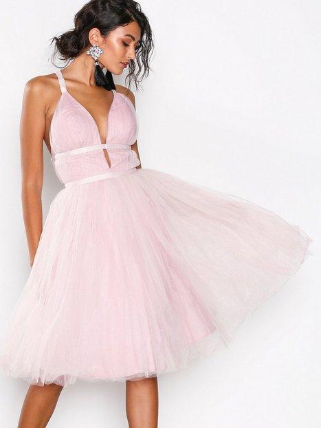 Billede af Chi Chi London Ivonette Dress Skaterkjole Pink