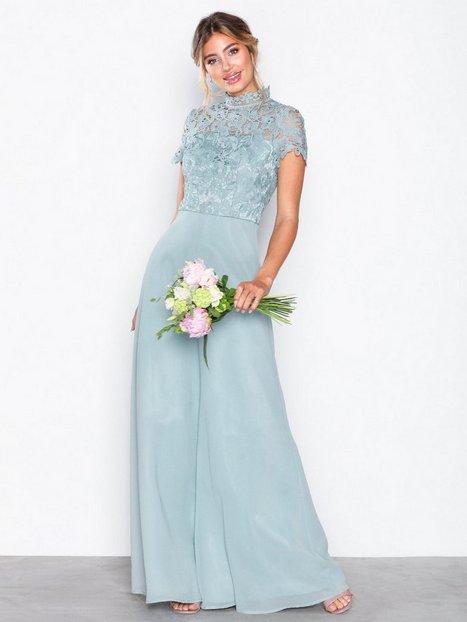 Billede af Chi Chi London Charissa Dress Maxikjoler Blue