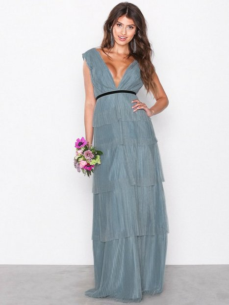 Billede af Chi Chi London Adria Maxi Dress Maxikjole Blue